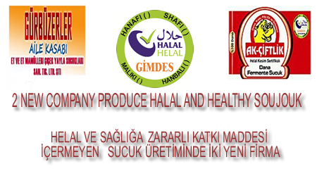 2 NEW COMPANY PRODUCE HALAL AND HEALTHY SOUJOUK