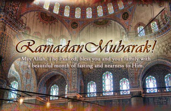 RAMADHAN MUBARAK TO ALL..
