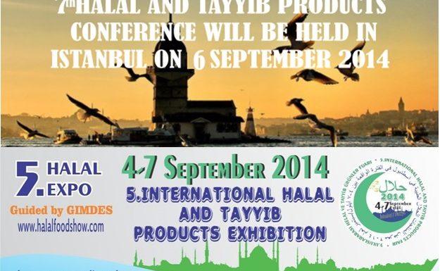 دعوة لحضور مؤتمر ومعرض الحلال الطيب في إسطنبول