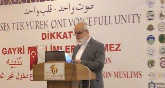 """Gayri Müslümlerin Müdahalesine Karşı Özel Toplantısı"""" Sonuç Bildirgesi"""