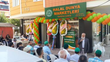 THE NEW BRANCH OF HALAL DUNYA MARKETS HAS OPENED IN TEKIRDAG