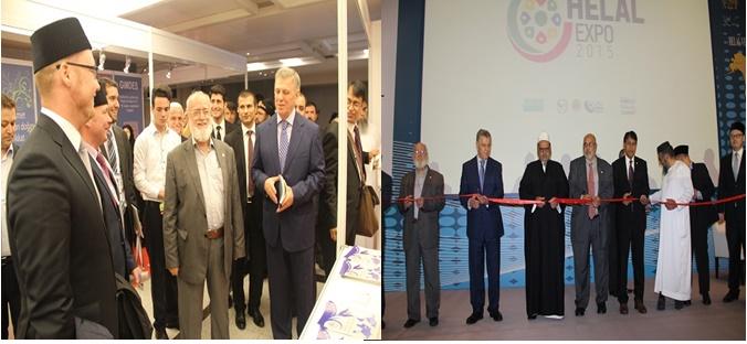 جيمدس نظمت المعرض العالمي للمنتجات الحلال الطيبة