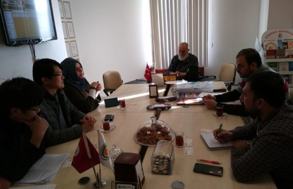 Dr. James Noh, Director of Halal Industry Department of Korean Institute visited GIMDES.