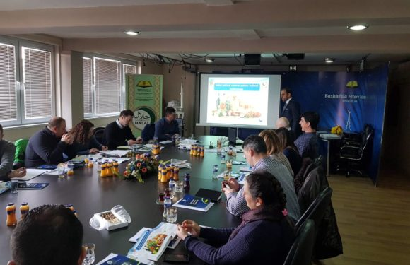 GIMDES made a training for the Halal certification body in Macedonia