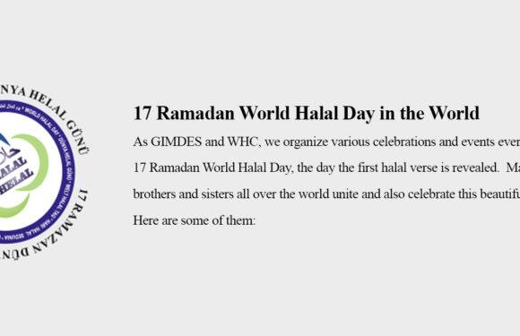 17 Ramadan World Halal Day in the World